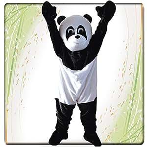 Carnival Toys Panda–25908Veste de costume, haut et pieds séparé universel L–XXL