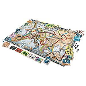 Days of Wonder – Aventureros al Tren, juego de mesa (LFCABI127)