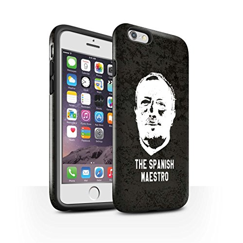Offiziell Newcastle United FC Hülle / Glanz Harten Stoßfest Case für Apple iPhone 6 / Pack 8pcs Muster / NUFC Rafa Benítez Kollektion Spanisch Maestro