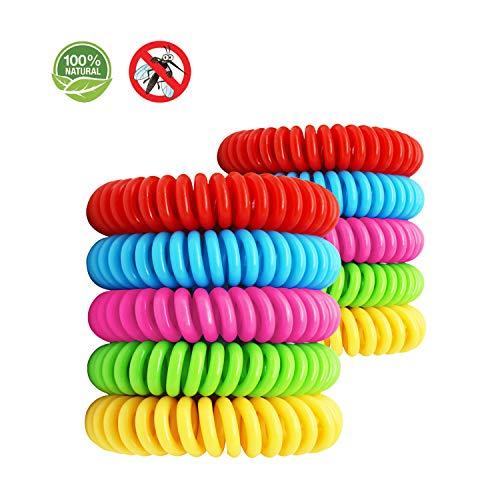 Freaky Jo Shop | Pulsera antimosquitos | Pulseras | pulsera | Pulsera repelente contra mosquitos efectiva | Protección | Natural con aceites esenciales | Sin Deet | Productos Safe Baby | Bebés | Niños y adultos | Anti mosquitos | Sin pulsera de ultrasonido | Pulsera roja | Pulsera amarilla | Pulsera rosa | Pulsera verde | Pulsera azul