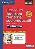 Concours Assistant territorial socio-éducatif - Catégorie B - Tout-en-un - Concours 2017-2018