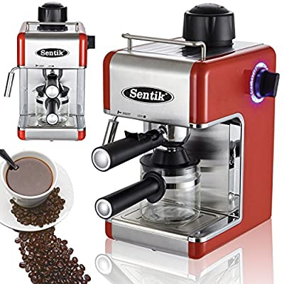 Sentik® Professional Espresso Cappuccino Coffee Maker Machine Home - Office by Sentik