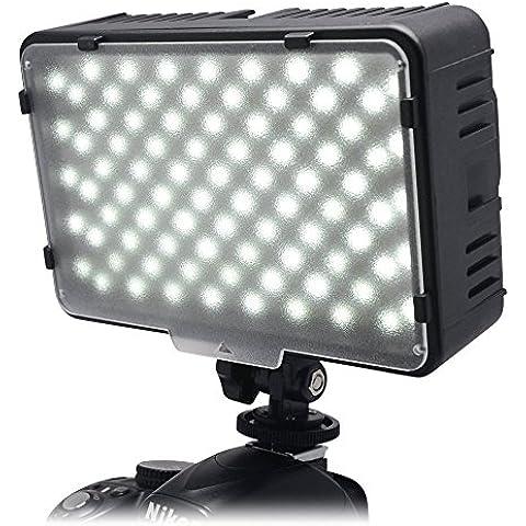 Mcoplus® 168A 3200 K - 5500 K Ultra alta potencia Panel Digital cámara / videocámara LED luz del LED Studio para Videocámara Cámara Digital SLR Canon, Nikon, Pentax, Panasonic, Samsung y