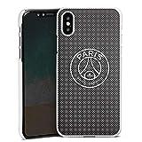 DeinDesign Coque Compatible avec Apple iPhone X Étui Housse Paris Saint-Germain Logo PSG