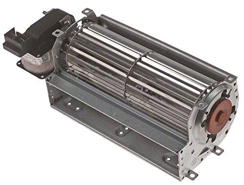 Querstromlüfter 25W Walze ø 60mm x 180mm Motor links 230V 50Hz Universal