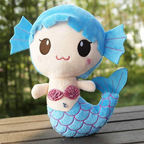Comomingo Plüschtiere Geschenk Für Kinder Nette Reizende Plüsch Prinzessin PP Baumwollspielzeug Für Baby Kinder Mädchen Die Kleine Meerjungfrau Gefüllte Puppe - Plüschtiere Soft-plüsch