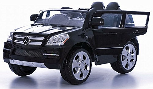 RC Auto kaufen Kinderauto Bild 2: crooza Mercedes-Benz SUV GL450 GL 450 Jeep 12V Kinderauto Kinderfahrzeug Kinder Elektroauto (Schwarz)*