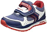 Geox Bambini E Ragazzi, Sneakers, J Pavel B, (Blue/White), 31