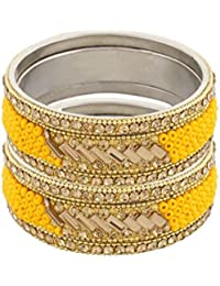 Pass Pass Traditional Bangles For Women And Girls Set Of 6