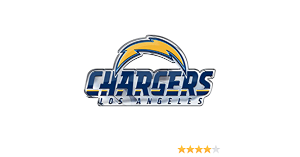 Promark Nfl Los Angeles Chargers Decaldecal Set Mini 12 Pack Team Colors One Size Sport Freizeit
