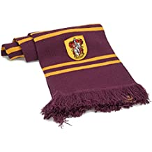 Harry Potter - Bufanda, ultra soft de 190 cm, con bolsa con cremallera (Cinereplicas Gryffindor Purple)