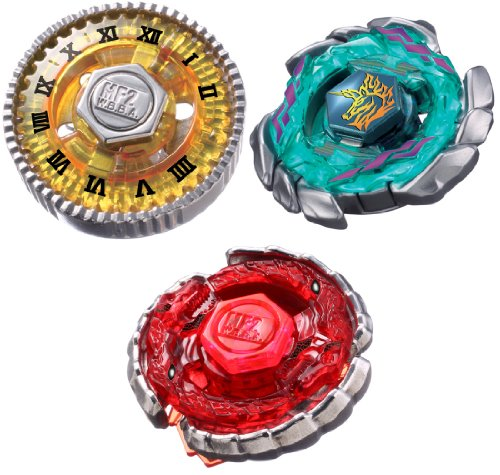 BB-117 Strongest Blader Set (3 tops) [JAPAN] (3 Beyblade Set)