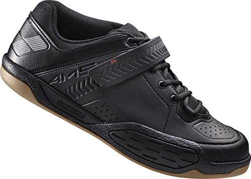 SHIMANO - Maglietta AM5 SPD Cycling Shoe, Uomo, BAM50047, Black/Red, 47