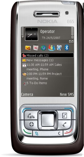Nokia E65 mocca-silver UMTS Handy