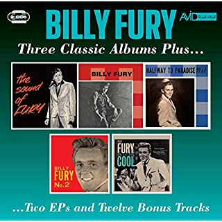 Three Classic Albums Plus (The Sound Of Fury / Billy Fury / Halfway To Paradise)