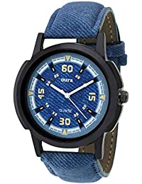 Oura Analouge Denim Multycolor Dial Round Boys & Men,s Watch