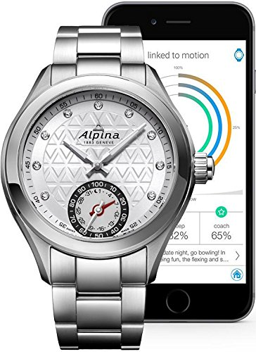 Alpina-Geneve-Horological-Smartwatch-AL-285STD3C6B-Reloj-de-Pulsera-para-mujeres-null