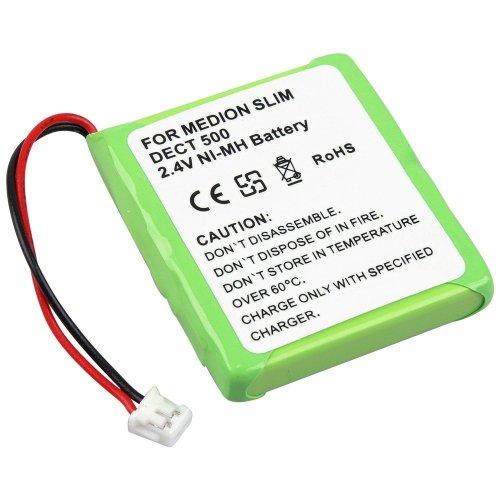 Power Akku Ni-MH für Medion MD81877 MD82877 Life S63006 Slim DECT 500 Life S63022 MD82772
