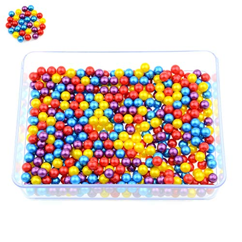 Predator Paintball Kugeln, Cal. 0.40 für Blasrohr und Paintball Markierer, Premium Paintballs + 200, 500, 1000, 3000 Stück + Farben (Mix, 1000)