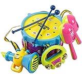 Icollect® 5PCS Baby Boy Girl Drum Set Musical Instruments Kids Drum Set Children Toy Gift -1 pcs