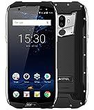 OUKITEL WP5000-5.7 pouces (18: 9 ratio) IP68 étanche antichoc 4G smartphone, 13,9 mm d'épaisseur, batterie rapide 5200mAh, Octa Core 2,5 GHz 6 Go + 64 Go, double SIM, caméras Triple - Noir