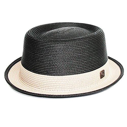 Dasmarca Bobby Carbon Crushable & Packable Porkpie Summer Hat - L