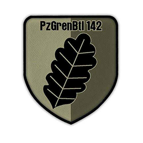 Écusson pzGrenBtl 142 camouflage armée tYP2 panzergrenadierbataillon crest badge neustadt de hesse grande#14718 patch patch patch