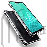#6: JGDWORLD Soft Silicone TPU Transparent Back Bumper case Cover for Oppo Realme1 (4+64) GB