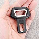 #7: Universal Black Metal Seat Belt Alarm Stopper Buckle Cum Bottle Opener