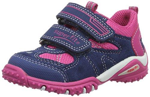 Superfit Baby Mädchen SPORT4 Mini Sneaker, Blau (Water Kombi 88), 21 EU