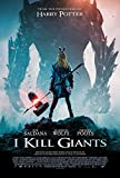 lunaprint I Kill Giants Movie Poster 70 X 45 cm