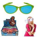 12 x Riesen-Partybrille 26x9x16cm XXL Karneval-Brille Jumbo-Scherzbrille im Verkaufsdisplay