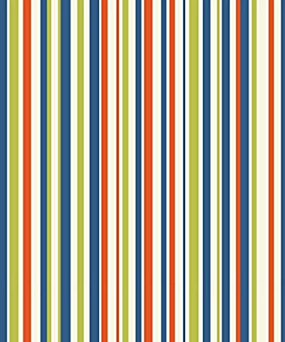 Arthouse 668701 Earn Your Stripes Wallpaper, Multi-Colour