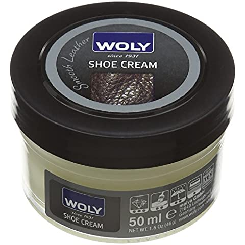 Woly Shoe Cream, Crema per Scarpe Unisex-Adulto