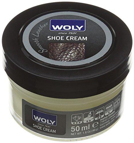 Woly Shoe Cream, Zapatos y Bolsos Unisex Adulto, Blanco (White), 50 ml