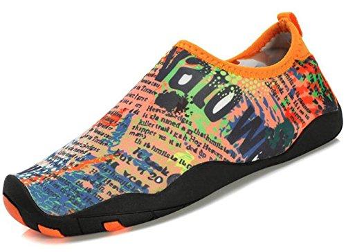 DADAWEN chaussures pour sport aquatique /plage /running Mixte Adulte Bleu