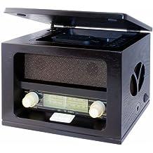 Roadstar HRA-1520MP - Radio (AM/FM, CD-RW, MP3), color negro