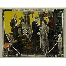 Impossible Mrs. Bellew, Robert Cain, Conrad Nagel, Gloria Swanson, 1922 - Foto-Reimpresión película Posters 36x28 pulgadas - sin marco