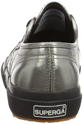 Superga 2750 Cotmetu - Scarpe da Ginnastica Basse donna Grigio (Grey Black)