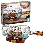 LEGO Ideas-Barco en una botella, set de ...