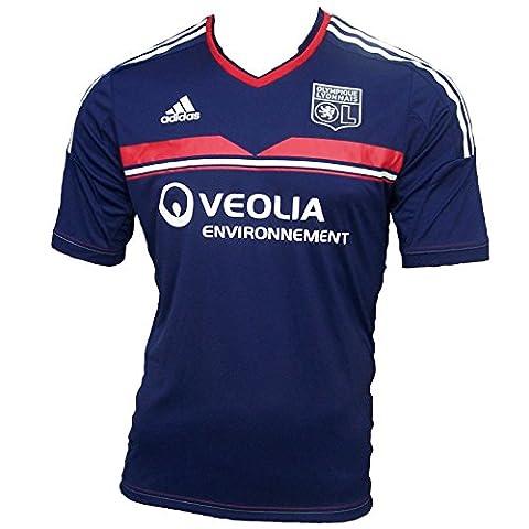 2013-14 Olympique Lyon Adidas 3rd Shirt bleu -
