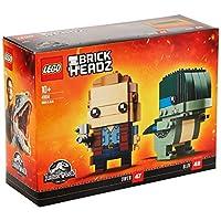 LEGO UK - 41614 BrickHeadz Owen and Blue Construction Figures