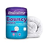 Slumberdown Bouncy Piumino, 10.5 Tog, Bianco, King