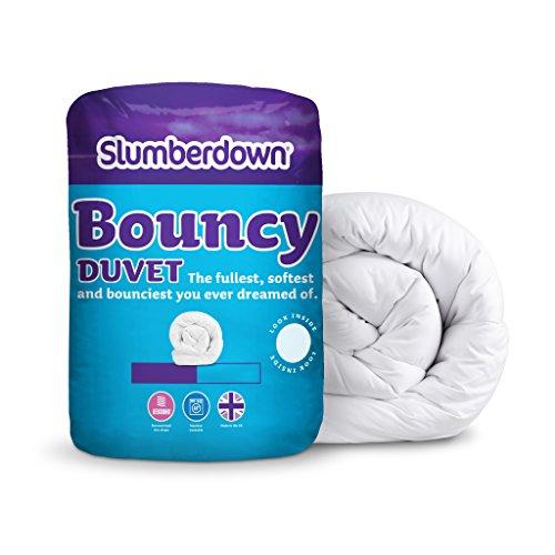 Slumberdown Bouncy - Piumino per letto matrimoniale maxi (King Size), 10,5 tog, colore: Bianco
