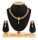 Satyam Jewellery Nx Antique Golden Coppe...