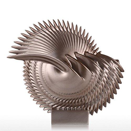 Tomfeel - Las Hojas - Adorno de Fobra de Vidrio Decorativo para Hogar