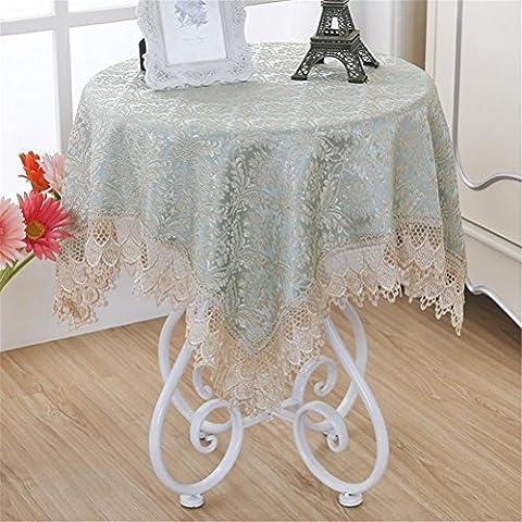GUOCAIRONG® Tischdecke Hochwertige Textilprodukte Tischdecke Hübsche Blumen Runde Tischtücher Wasserdichtes ölbeständiges Hotel Supplies Outdoor , (Blumen Plastiktischdecke)