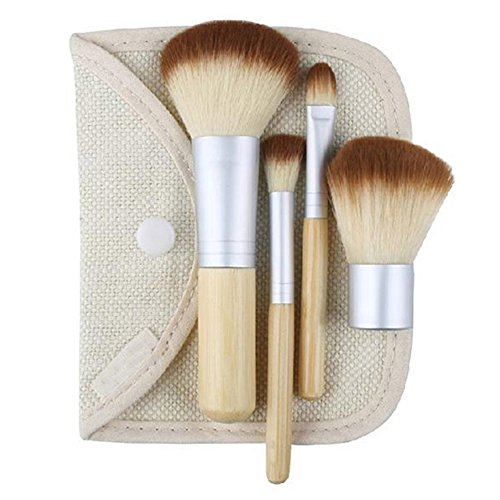 Sanwood Lot de 4 pinceaux de maquillage