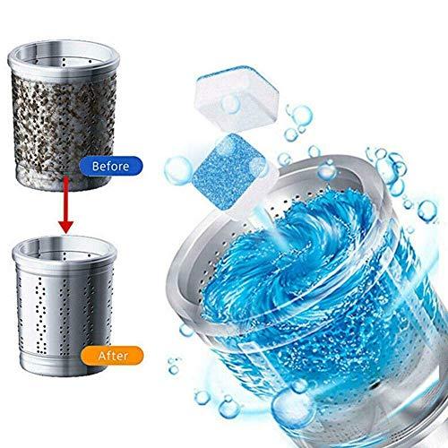 Küchen Waschmaschinenreiniger Tiefenreinigung Deodorant entfernen Langlebig Effektive Dekontamination Reinigungstablette für Haushalt & Küche (20pcs) -