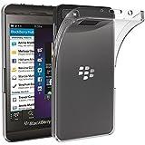 Blackberry Z10 Funda, iVoler TPU Silicona Case Cover Dura Parachoques Carcasa Funda Bumper para Blackberry Z10, [Ultra-delgado] [Shock-Absorción] [Anti-Arañazos] [Transparente]- Garantía Incondicional de 18 Meses